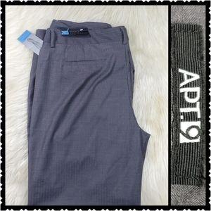 NWT Apt 9 womans gray dress pants size 18 modern